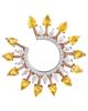 photo of Pear Cut Sun Earrings
