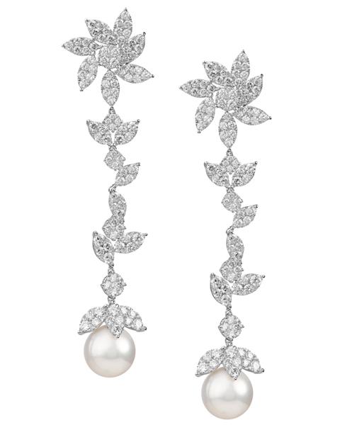 photo of pearl earrings