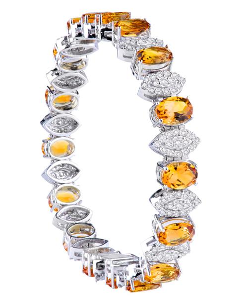 photo of citrine bracelet
