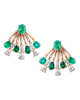 photo of Colombian emerald earrings