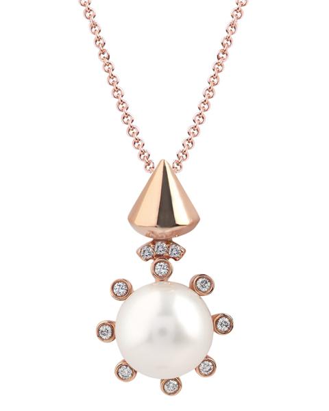 photo of fashion pearl pendant