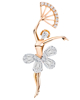 Photo of Ballet dancer pendant