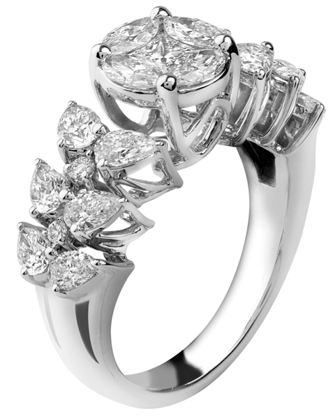 Photo of Marquise Cut Wedding Ring