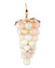 photo of opal grapes earrings