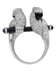photo of parrot brilliant ring