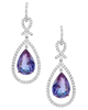 Photo of Pear cut Alexandrite earrings