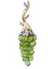 photo of peridot grape earrings