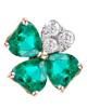 Photo of gilson emerald pendant