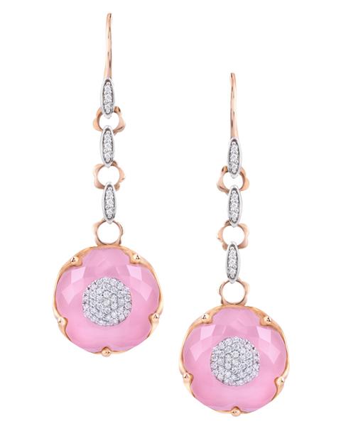 photo of quartz earrings