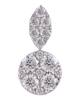 photo of round cut earrings