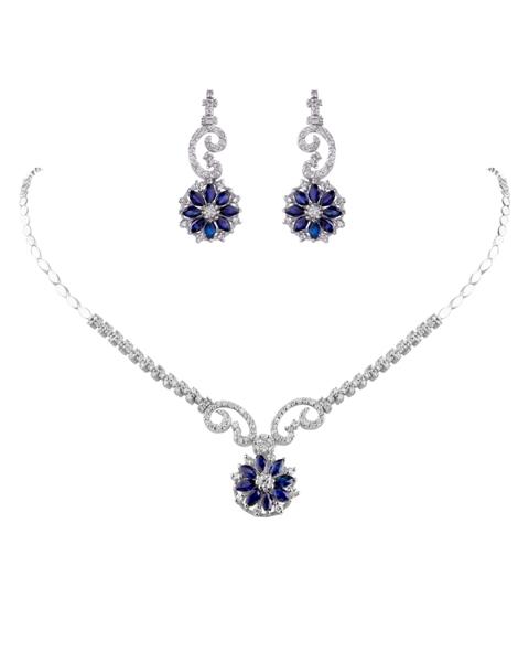 photo of sapphire set