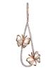 photo of shell butterfly earrings