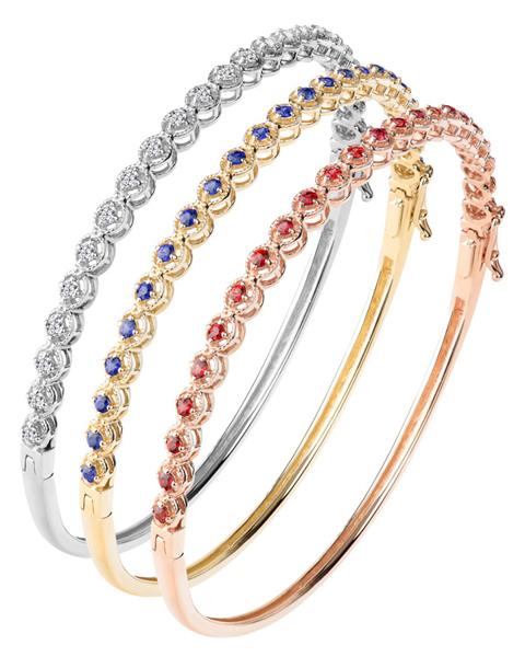 photo of triple bracelet jewellery