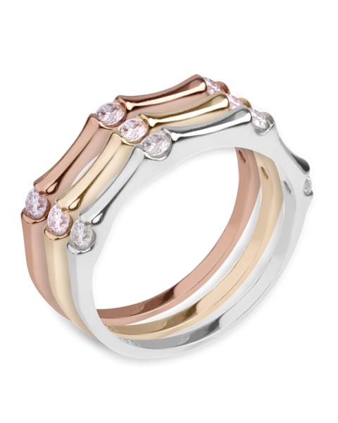 photo of triple ring diamond