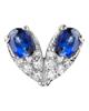 Photo of Heart Sapphire Pendant
