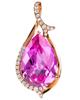 Pear cut  Sapphire Pendant