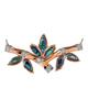 Abalone Shell and diamond Pendant