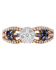Photo of Sapphire and Diamond Ring