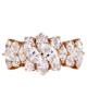 Brilliant diamond womens ring