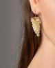 opal grapes earrings