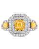 Women's Yellow Stone Ring