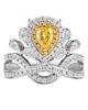 Women's Yellow Jewellery Ring