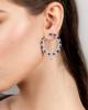 photo of pear cut sapphire earrings