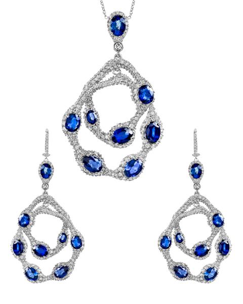 Photo of Sapphire Half Set
