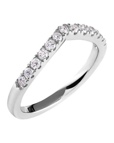 Photo of Diamond Wishbone Ring