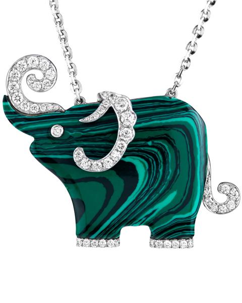 Photo of Green Elephant Pendant