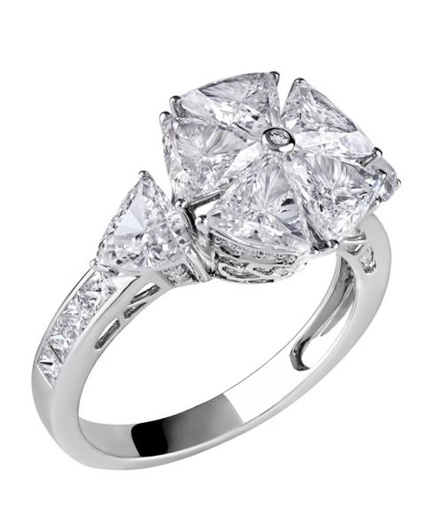 Photo of Trillion Diamond Ring
