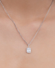 Photo of Baguette Diamond Pendant
