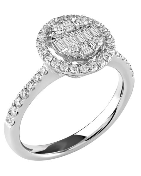 Photo of Baguette Diamond Ring