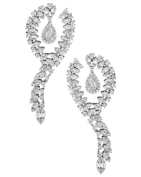 Photo of Baguette Diamond Earrings