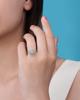 photo of cabochons cut opal ring