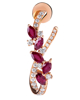 Photo of Ruby Diamond Earrings