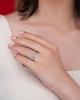 photo of yellow and white diamond ring