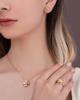 photo of yellow shell pendant