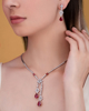 photo of ruby necklace