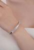 photo of baguette cut diamond bracelet
