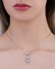 photo of white gold diamond pendant