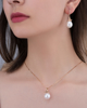 rose gold diamond half set