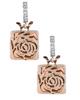 Rose gold Diamond Earrings