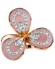 fancy cut pink shell ring