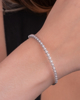 photo of brilliant bracelet white gold