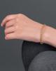 sapphire bracelet gold